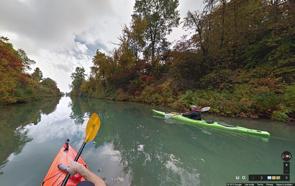 Island Loop Route National Water Trail - VIA GOOGLE TREKKER