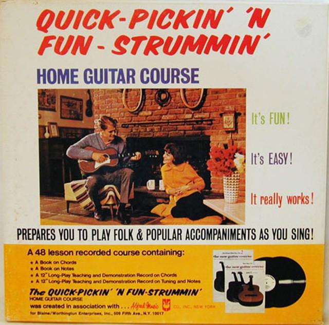 Quick-Pickin\' \'N Fun-Strummin\' Home Guitar Course (1973) | Local ...