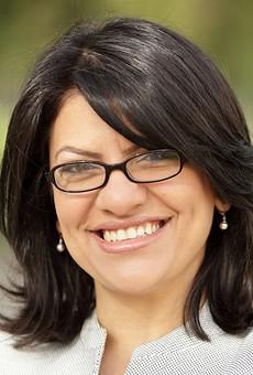 Rashida Tlaib talks politics