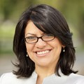 Rashida Tlaib talks politics