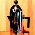 Retro stovetop espresso makeravailable at Hugh