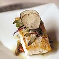 Roasted Atlantic halibut