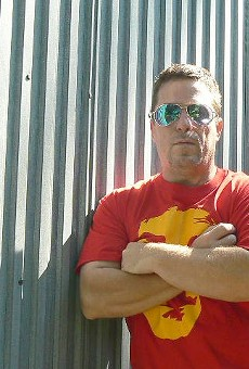 Rocker Darren Robbins faces jail time for harmless graffiti
