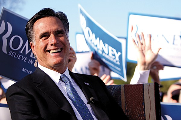 "Romney told a private gathering about his team of ""Karl Rove equivalents."""