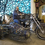 Ron Finch brings his far-out creations to Autorama
