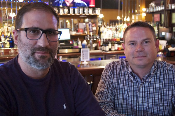 Sam Fotias (left) and Jason Huvaere (right). - PHOTO BY ALYSA OFFMAN.
