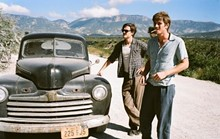 Sam Riley plays Kerouac to Garrett Hedlund's Neal Cassady.