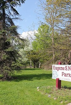 Eugene S. Nowicki Park is one of three pieces of land owned by Rochester Hills, which leased its mineral rights to an oil and gas exploration company last year.