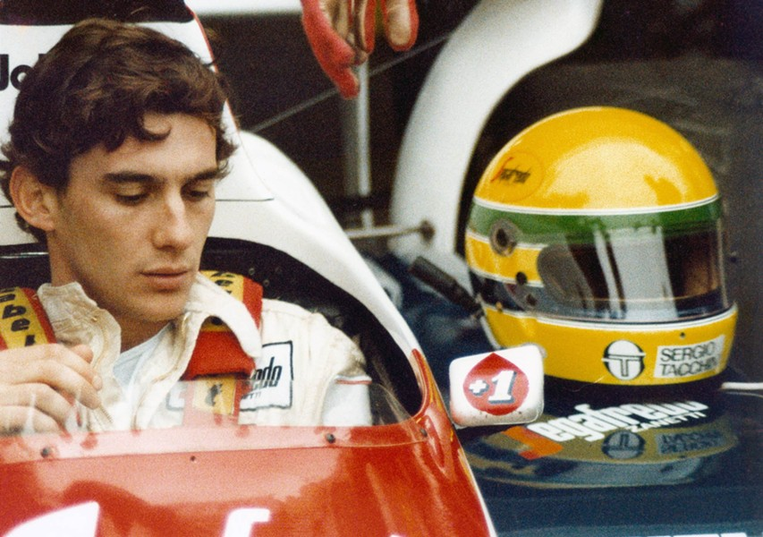 Speed racer: Senna in Senna.
