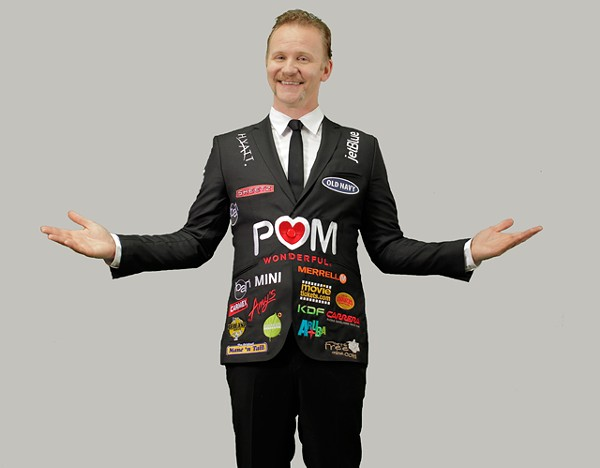 Sponsored! Morgan Spurlock in The Greatest Movie Ever Sold.