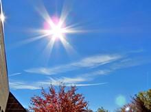 KATHLEEN FOXWORTHY - sun rays in the sky