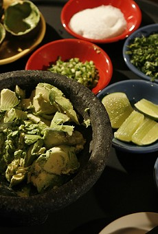 Tableside guacamole from Miguel's Cantina in Rochester Hills.