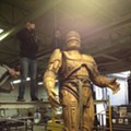 Take a Look at Detroit's RoboCop Statue