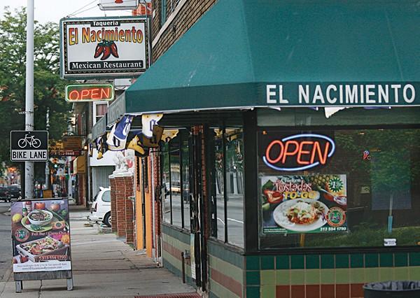 Taqueria El Nacimiento in southwest Detroit.