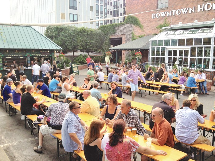 The best of ann arbor beer food drink detroit detroit metro times for Ann arbor beer garden