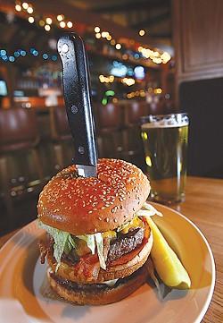 The Big Beaver Burger. - MT PHOTO: ROB WIDDIS