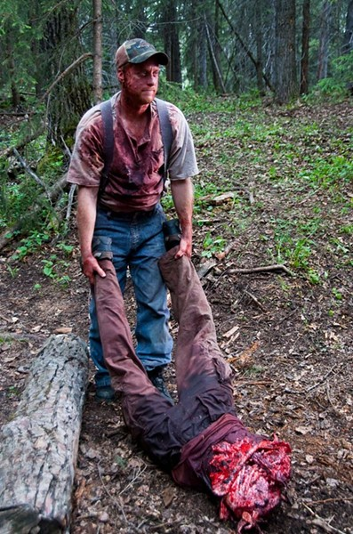 The deaths are inventively splatterific in Tucker and Dale vs. Evil