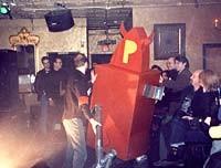 The Devil's Robot at the Hamtramck Blowout, March 2001 - PHOTO / JENNIFER JEFFERY, POPFOLIO