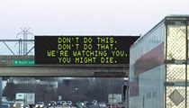 MDOT's electronic signs are a total drag. Let's use them for art instead.