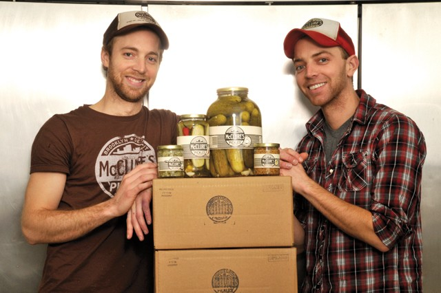 The McClure brothers are part of a batch of local pickle producers