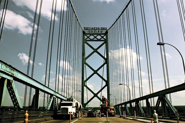 The Morouns have spent nearly $5 million to help keep the Ambassador Bridge a monopoly.