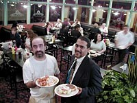 "The Motown Cafe Grille: Chef George Berishaj and ""Fresh"" serve wingding dinner and a cheeseburger - METRO TIMES PHOTO / LARRY KAPLAN"