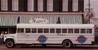 The shuttle bus for Nemo's Bar & Grill - PHOTO / NEMO'S