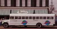 The shuttle bus for Nemo's Bar & Grill - PHOTO / NEMO'S