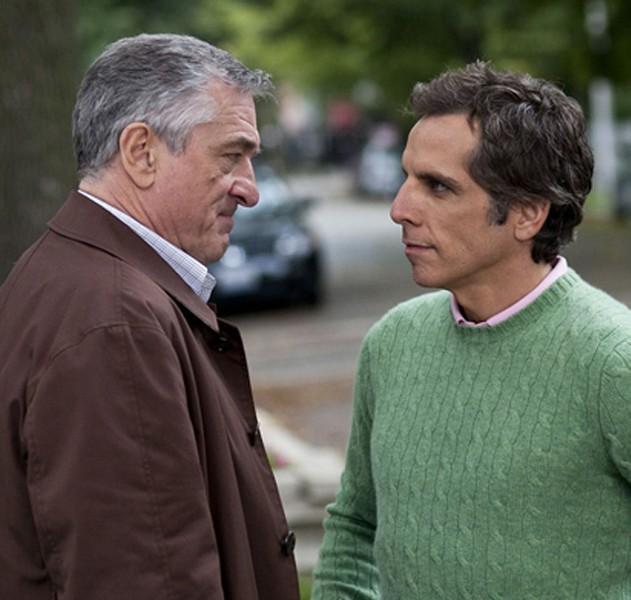 Thin gruel: Robert De Niro and Ben Stiller in Little Fockers.
