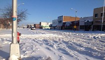 This is how much it snowed last night across metro Detroit