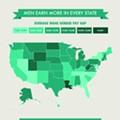 This map depicting wage disparities between men and women in Michigan is depressing