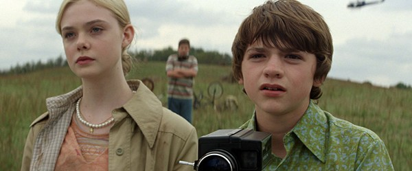Trippin' on nostalgia: Elle Fanning (left) and Joel Courtney in Super 8.