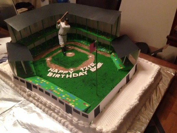 Babe Ruth Birthday Cake
