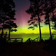 Aurora Borealis could be visible in Michigan tonight, if not for that pesky rain