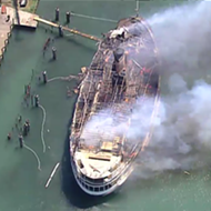 Boblo Boat owners launch GoFundMe in effort to rebuild burned-out steamer