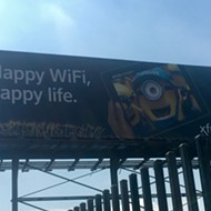 Tagger hits Detroit Minions billboard with 'ABORTIONS ARE TIGHT!!!'