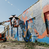 Now's your c to see Murals in the Market artists paint the town