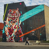 This sports website perfectly takes on Detroit street art