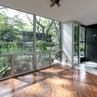 This Mies van der Rohe designed townhouse is on the market in Detroit for $325k