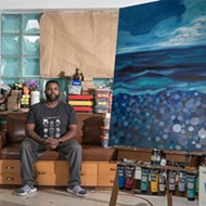 Detroit artist Senghor Reid makes waves with new series