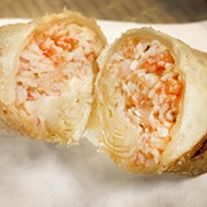 Behold, Asian Corned Beef's new lobster egg rolls