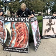 Anti-abortion group sues Detroit, says free speech rights violated by police