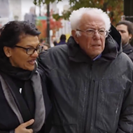 Heart-wrenching video shows Bernie Sanders touring Detroit with Rep. Rashida Tlaib