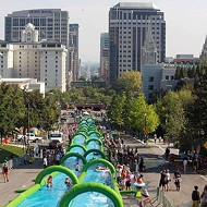 CANCELED: That 1,000-foot water slide is (not) coming to Flint on July 25