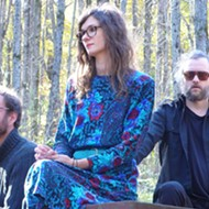 Psych-folk trio Pigeons brings their sound to Trinosophes