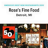Rose's Fine Food makes Bon Apetit best new restaurant list
