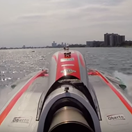 VIDEO: Take a trip down the Detroit River at 200 miles per hour