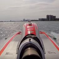 VIDEO: Take a trip down the Detroit River at 200 miles per hour