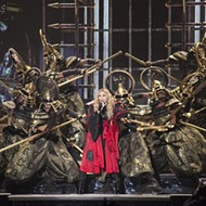 Concert review: Madonna is pure Detroit