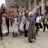 Watch: WSU's Zombie Parade does 'Thriller'